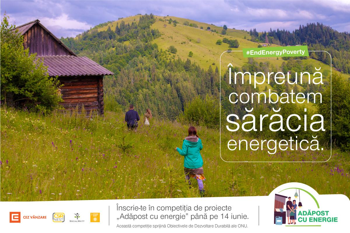 """CEZ VANZARE SI ASOCIATIA CSR NEST, SCUT DE PROTECTIE PENTRU CLIENTII VULNERABILI DIN OLTENIA: """"ADAPOST CU ENERGIE"""" – PROGRAMUL PILOT CARE OFERA 39.000 RON PENTRU PROIECTE DE EFICIENTA ENERGETICA"""